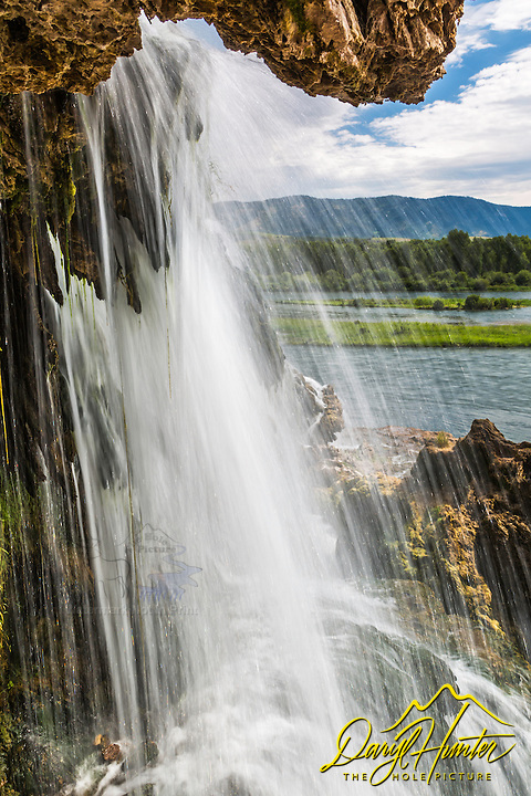 Fall Creek Falls, up close and personal.   The Snake flows below through beautiful Swan Valley Idaho