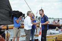 SKÛTSJESILEN: SNEEK: Snitser Mar, 31-07-2015, SKS kampioenschap 2015, Joure kampioen, ©foto Martin de Jong