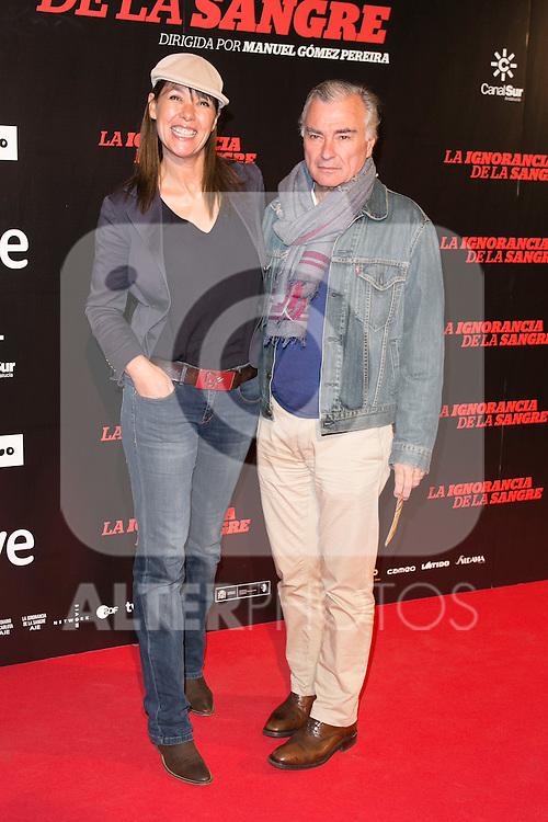 """Mabel Lozano attends """"La Ignorancia de la Sangre"""" Premiere at Capitol Cinema in Madrid, Spain. November 13, 2014. (ALTERPHOTOS/Carlos Dafonte)"""