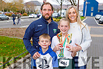 Abbey Boyle from Ballyduff won medals at the WIDA Irish Dancing Associations championships in the Brandon Hotel on Saturday morning standing with Bobby and Mikey Boyle and Gillian Lucid.