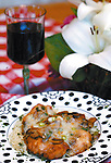 Cathleen Allison/Nevada Appeal.Linda Marrone's chicken breast Lombardy.