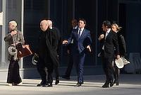 Roma, 2 Marzo 2016<br /> Francesco Paolo Tronca, Doriana Mandrealli, Matteo Renzi, Massimiliano Fuksas<br /> Il Presidente del Consiglio visita il cantiere della Nuvola di Fuksas