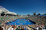 27 Jan 2009, Melbourne, Australia ---  General view of the Margaret Court Arena during the Australian Open Tennis Grand Slam January 26, 2009 in Melbourne. Photo by © Victor Fraile / The Power of Sport Images