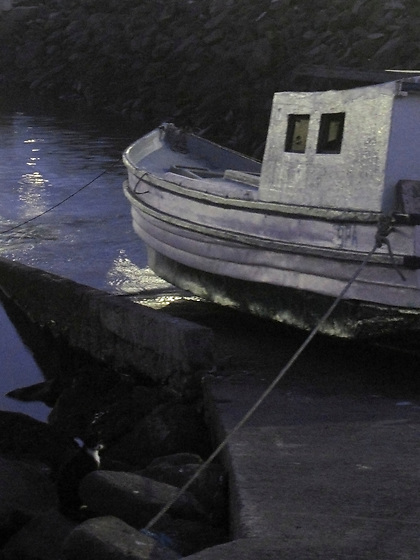 El sueño del pescador / Ciudad de Panamá.<br /> <br /> Edición de 10 + 1 P/A | Víctor Santamaría.