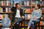 CORAL GABLES, FL - OCTOBER 21: Author Carlos De Vega in conversation with Gina Montaner signs copies of his book 'Se alquila Casa Blanca' at Books and Books on October 21, 2013 in Coral Gables, Florida. (Photo by Johnny Louis/jlnphotography.com)