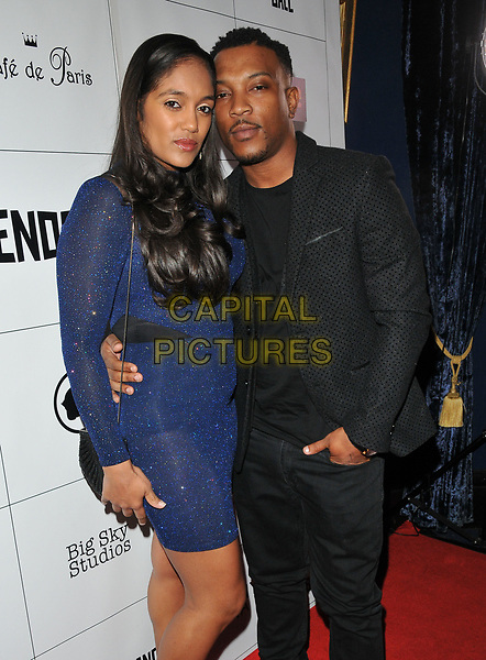 Danielle Isaie and Ashley Walters at the Raindance Independent Filmmaker's Ball, Cafe de Paris, Coventry Street, London, England, UK, on Wednesday 26 April 2017.<br /> CAP/CAN<br /> &copy;CAN/Capital Pictures