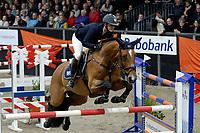 ZUIDBROEK - Paardensport, ICCH Zuidbroek, springen internationaal Grote Prijs , 05-01-2019, Marielle van Geel - Schro met Flying Echo