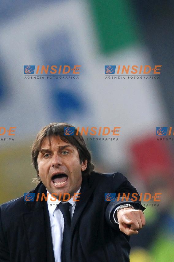 Antonio CONTE allenatore della Juventus.Roma 26/11/2011 Stadio Olimpico.Football Calcio Serie A 2011/2012.Lazio Vs Juventus.Foto Insidefoto Andrea Staccioli