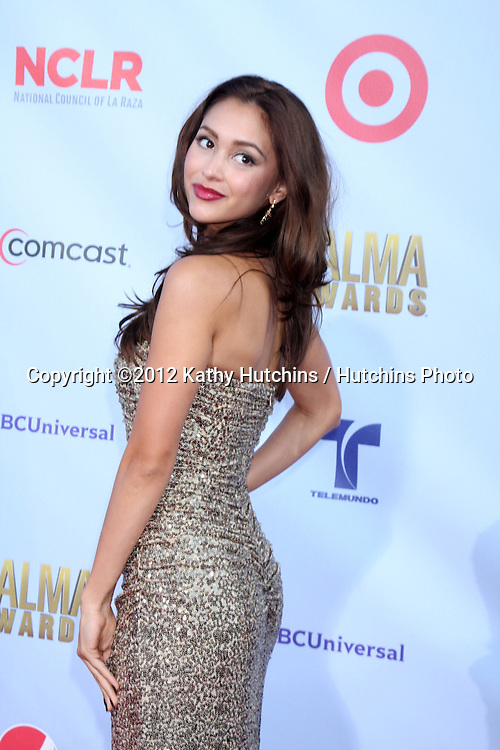 LOS ANGELES - SEP 16:  Lindsey Morgan arrives at the 2012 ALMA Awards at Pasadena Civic Auditorium on September 16, 2012 in Pasadena, CA