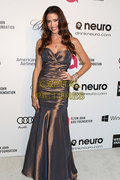 WEST HOLLYWOOD, CA - MARCH 2: Shannon Elizabeth attending the 22nd Annual Elton John AIDS Foundation Academy Awards Viewing/After Party in West Hollywood, California on March 2nd, 2014.  <br /> CAP/MPI/mpi99<br /> &copy;mpi99/MediaPunch/Capital Pictures