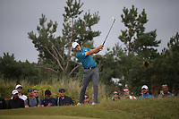 Jordan Spieth (USA) at the 9th during Sunday's Final Round at The 146th Open played at Royal Birkdale, Southport, England.  23/07/2017. Picture: David Lloyd | Golffile.<br /> <br /> Images must display mandatory copyright credit - (Copyright: David Lloyd | Golffile).