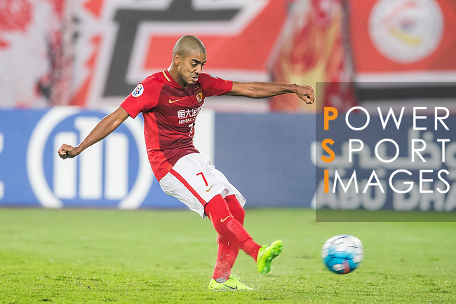 Alan Douglas Borges de Carvalho of Guangzhou Evergrande FC in action during their AFC Champions League 2017 Match Day 1 Group G match between Guangzhou Evergrande FC (CHN) and Eastern SC (HKG) at the Tianhe Stadium on 22 February 2017 in Guangzhou, China. Photo by Victor Fraile / Power Sport Images