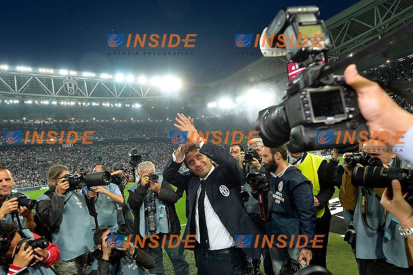 Antonio Conte Juventus <br /> Torino 06-05-2014 Juventus Stadium - Football Calcio 2013/2014 Serie A, Juventus - Atalanta, Foto Andrea Staccioli / Insidefoto