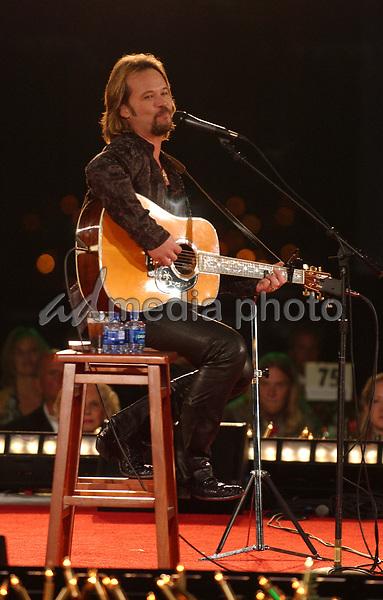 18 October 2005 - Nashville, Tennessee - Travis Tritt. 2005 BMI Awards held at BMI Nashville Headquarters. Photo Credit: Laura Farr/AdMedia