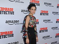 www.acepixs.com<br /> <br /> August 3 2017, LA<br /> <br /> Jenny Slate arriving at the premiere of Amazon's 'Comrade Detective' at the ArcLight Hollywood on August 3, 2017 in Hollywood, California<br /> <br /> By Line: Peter West/ACE Pictures<br /> <br /> <br /> ACE Pictures Inc<br /> Tel: 6467670430<br /> Email: info@acepixs.com<br /> www.acepixs.com