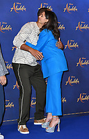 Will Smith and Naomi Scott<br /> at 'Aladdin' film photocall with the cast at the Rosewood Hotel, London, England on May 10, 2019<br /> CAP/JOR<br /> &copy;JOR/Capital Pictures