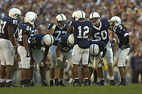 29 October 2005:  QB Michael Robinson (12) and the Penn State offense..The Penn State Nittany Lions defeated the Purdue Boilermakers 33-15 October 29, 2005 at Beaver Stadium in State College, PA..