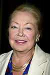 Mathilde Krim attending a performance of the new Broadway Musical, THE BOY FROM OZ at the Imperial Theater, New York City.<br /> October 7, 2003