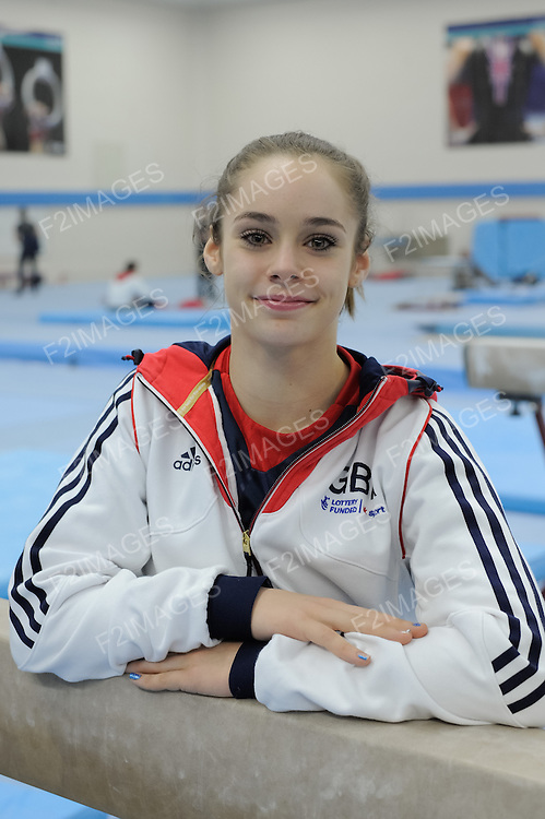 Media Day British Gymnastics 8.5.14 .Catherine Lyons.