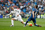 Real Madrid´s Gareth Bale during La Liga match at Santiago Bernabeu stadium in Madrid, Spain. December 05, 2015. (ALTERPHOTOS/Victor Blanco)