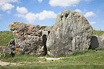 West Kennet Long Barrow, near Avebury, Wiltshire, England