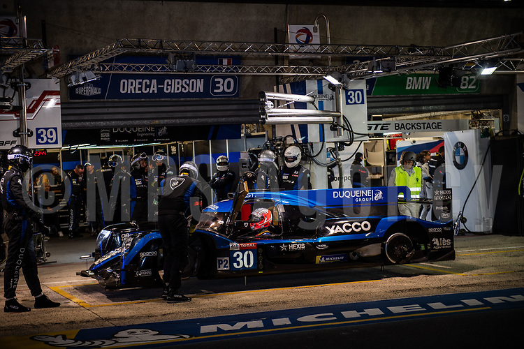 #30 DUQUEINE ENGINEERING (FRA) ORECA 07 GIBSON LMP2 NICOLAS JAMIN (FRA) PIERRE RAGUES (FRA) ROMAIN DUMAS (FRA)
