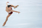 Kexin Zhang of China compete in the Figure Skating Team Ice Dance Short Program during the 2014 Sochi Olympic Winter Games at Iceberg Skating Palace on February 8, 2014 in Sochi, Russia. Photo by Victor Fraile / Power Sport Images