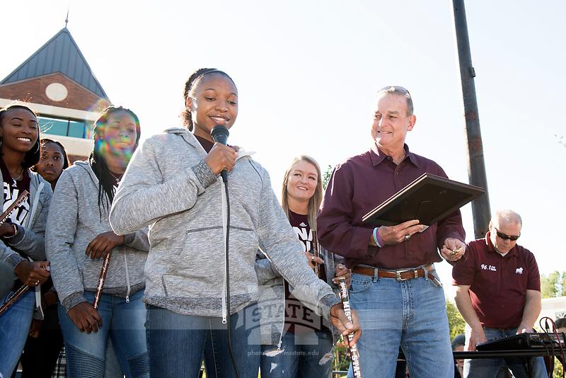 City Hall celebration for women's basketball<br />  (photo by Beth Wynn / &copy; Mississippi State University)