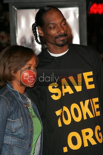 Snoop Dogg and friend<br />