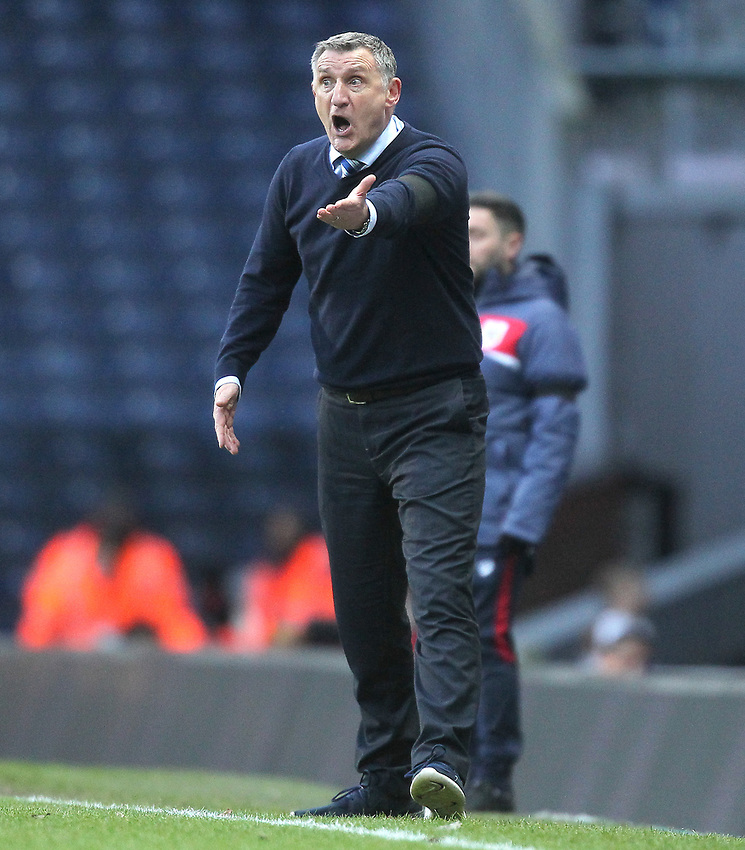 Blackburn Rovers Manager Tony Mowbray<br /> <br /> Photographer Mick Walker/CameraSport<br /> <br /> The EFL Sky Bet Championship - Blackburn Rovers v Bristol City - Saturday 9th February 2019 - Ewood Park - Blackburn<br /> <br /> World Copyright © 2019 CameraSport. All rights reserved. 43 Linden Ave. Countesthorpe. Leicester. England. LE8 5PG - Tel: +44 (0) 116 277 4147 - admin@camerasport.com - www.camerasport.com