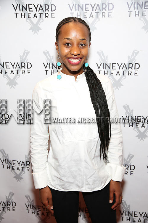 """Mirirai Sithole during the Opening Night Celebration for """"Good Grief"""" at the Vineyard Theatre on October 28, 2018 in New York City."""