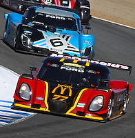 May 17, 2009: The #77 Ford Dallara of Memo Gidley and Brad Jaeger in acton at the Verizon Festival of Speed Grand-Am Rolex Series race at Mazda Raceway at Laguna Seca  in Salinas, CA. (Photo by Brian Cleary/www.bcpix.com)