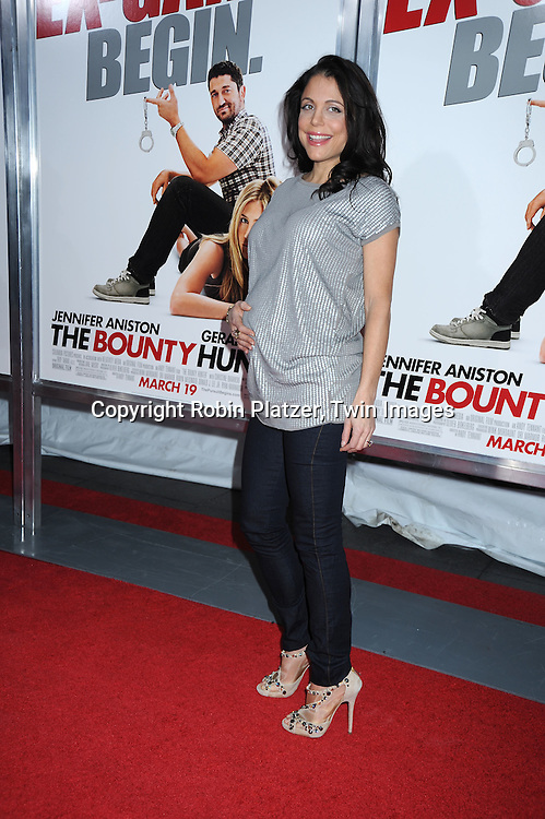 """Bethenny Frankel attending the New York Premiere of """"The Bounty Hunter"""" on March 16, 2010 at The Ziegfeld Theatre. The movie stars Gerard Butler and Jennifer Aniston."""