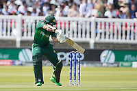 Imam-ul-Haq (Pakistan) guides to the gully region during Pakistan vs Bangladesh, ICC World Cup Cricket at Lord's Cricket Ground on 5th July 2019