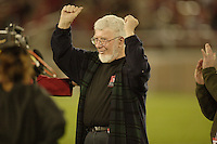 4 November 2006: Faculty during Stanford's 42-0 loss to USC at Stanford Stadium in Stanford, CA.