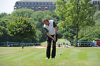 Phil Glenister of Team Wales during the Bulmers 2018 Celebrity Cup at the Celtic Manor Resort. Newport, Gwent,  Wales, on Saturday 30th June 2018<br /> <br /> <br /> Jeff Thomas Photography -  www.jaypics.photoshelter.com - <br /> e-mail swansea1001@hotmail.co.uk -<br /> Mob: 07837 386244 -