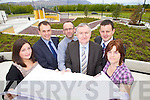 Launch of the Sports Acadamy Building at the IT Tralee on Wednesday, from left: Linda Raymond, Cara Centre, John Fox IT Tralee, Michael Hall, Registrar IT Tralee, Oliver Murphy, President IT Tralee, Tim Dalt, Student Services Manager IT Tralee and Urusla Barrett, Health and Leisure Dept IT Tralee.