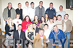 2425-2429.21st Key to the Door - Robert Foran, Rahoonane, seated centre having a ball with friends and family at his 21st birthday held in The Glen Bar, Boherbue, Tralee on Saturday night.   Copyright Kerry's Eye 2008