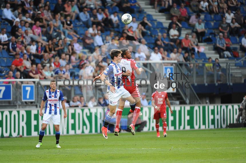 VOETBAL: HEERENVEEN: Abe Lenstra Stadion, 17-05-2017, SC Heerenveen - FC Utrecht, uitslag 1-3, debuut bij SC Heerenveen 16 jarige Kik Pierie, ©foto Martin de Jong