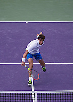 Haase Running Backhand to Net
