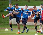07.05.2018 Rangers training: James Tavernier, Lee Hodson and Greg Docherty