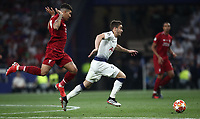Tottenham's Harry Winks (r) in action with Liverpool's Roberto Firmino (l) during the UEFA Champions League final football match between Tottenham Hotspur and Liverpool at Madrid's Wanda Metropolitano Stadium, Spain, June 1, 2019. Liverpool won 2-0.<br /> UPDATE IMAGES PRESS/Isabella Bonotto
