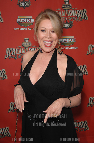 LESLIE EASTERBROOK at the Spike TV Scream Awards 2006 at the Pantages Theatre, Hollywood..October 7, 2006  Los Angeles, CA.Picture: Paul Smith / Featureflash