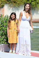 VENICE, ITALY - AUGUST 30: Farrah Abraham and Sophia Abraham arrive in Darsena Excelsior during the 76th Venice Film Festival  on August 30, 2019 in Venice, Italy. (Photo by Marck Cape/Inside Foto)<br /> Venezia 30/08/2019
