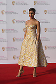 London, UK. 8 May 2016. Cush Jumbo. Red carpet  celebrity arrivals for the House Of Fraser British Academy Television Awards at the Royal Festival Hall.