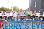 READY, STEADY-GO: The start of the Mini-Marathon in aid of the Kerry Careers Association at the Brandon hotel, Tralee on Sunday.