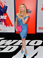 Izabella Miko  at the world premiere for &quot;The Spy Who Dumped Me&quot; at the Fox Village Theatre, Los Angeles, USA 25 July 2018<br /> Picture: Paul Smith/Featureflash/SilverHub 0208 004 5359 sales@silverhubmedia.com