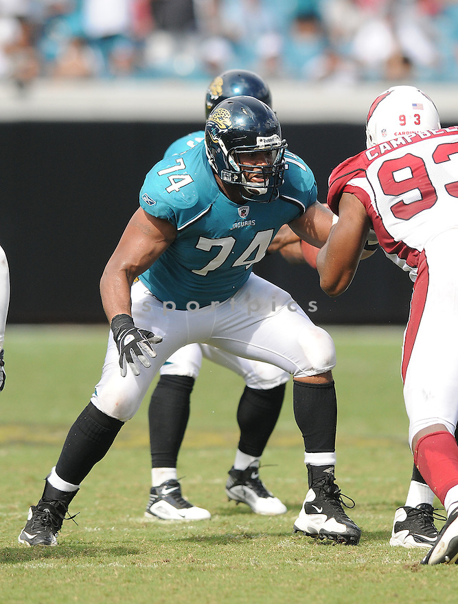 MAURICE WILLIAMS,of the Jacksonvile Jaguarss , in action during the Jaguars game against the Arizona Cardinalss on September 20, 2009 Jacksonvile, FL.  The Cardinals beat the Jaguars 31-17.