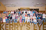 PARTY: What a party Barry Duggan of Shanakill, Tralee had on Friday nigfht in Ballyroe Heights Hotel, Tralee with his family and friends. (barry is seated 7th from left).