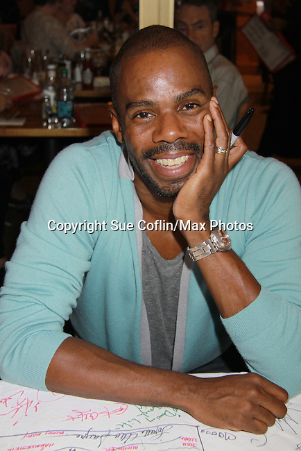 Colman Domingo (The Scottsboro Boys) attends the 25th Annual Broadway Flea Market & Grand Auction to benefit Broadway Cares/Equity Fights Aids on September 25, 2011 in New York City, New York.  (Photo by Sue Coflin/Max Photos)